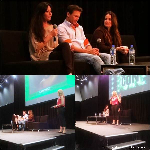 -    29/03/2014 : Shannen, Holly et Brian Krause assistant à la Convention Charmed en Australie.  -