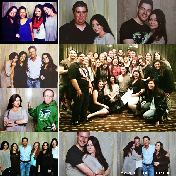 -    29/03/2014 : Shannen, Holly et Brian Krause assistant à la Convention Charmed en Australie.  -