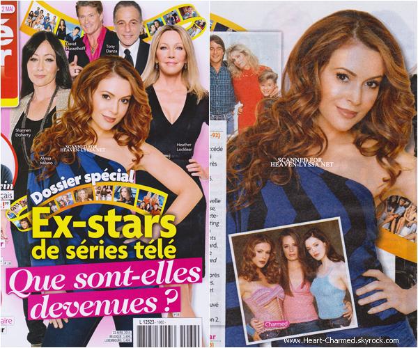 -    Téléstar Magazine : Alyssa et Shannen en couverture du magazine Téléstar pour Avril 2014.  -