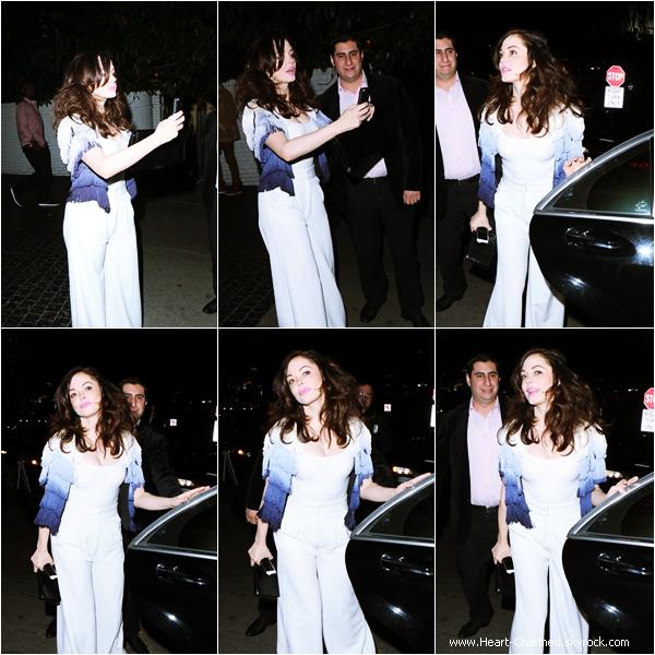 -    05/04/2014 : Rose quittant le Château Marmont à Los Angeles.  -