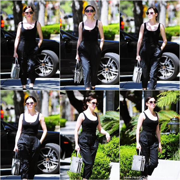 -    14/04/2014 : Rose se promenant dans les rues de West Hollywood.  -
