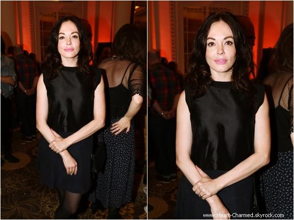 -    24/04/2014 : Rose assistant à une soirée organisée par le festival Sundance à Londres.  -
