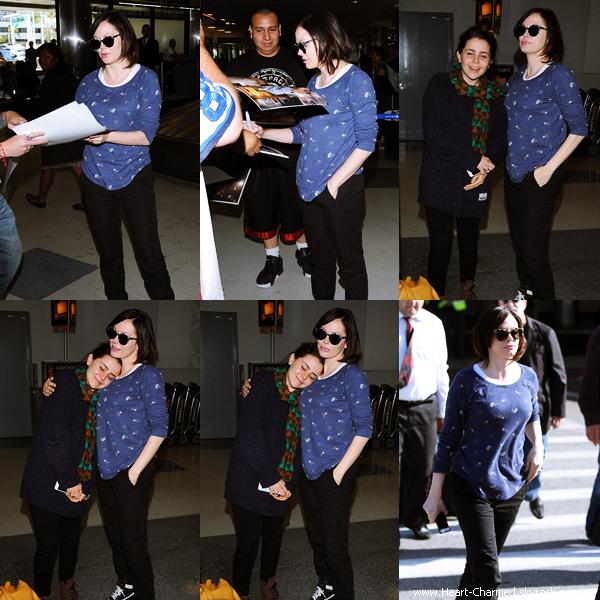 -    04/05/2014 : Rose arrivant à l'aéroport LAX de Los Angeles.  -