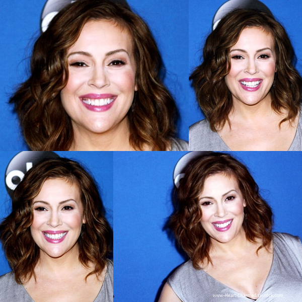 -    12/05/2014 : Alyssa assistant au 2014 MDA Show Of Strength Telethon - Day 1 à Hollywood.  -