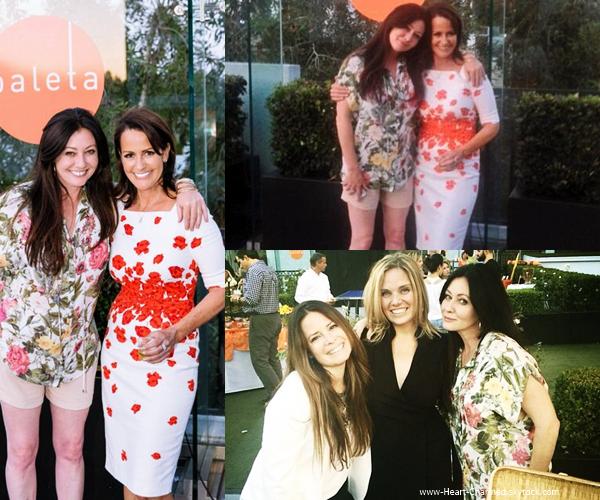 -    14/05/2014 : Shannen et Holly assistant au Eat Paleta's Raise a Glass à Los Angeles.  -