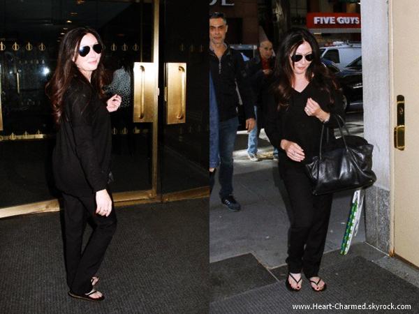 -    19/05/2014 : Shannen arrivant à New-York.  -