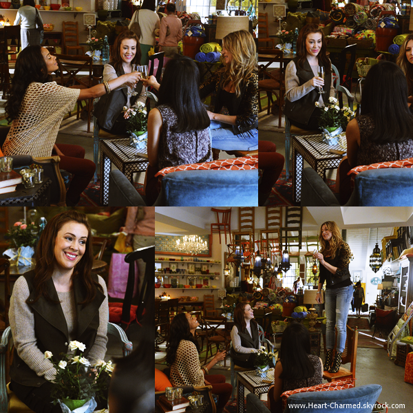 -    Mistresses : Découvrez ci-dessous les stills du premier épisode de la saison 2 de Mistresses, la nouvelle série d'Alyssa.  -