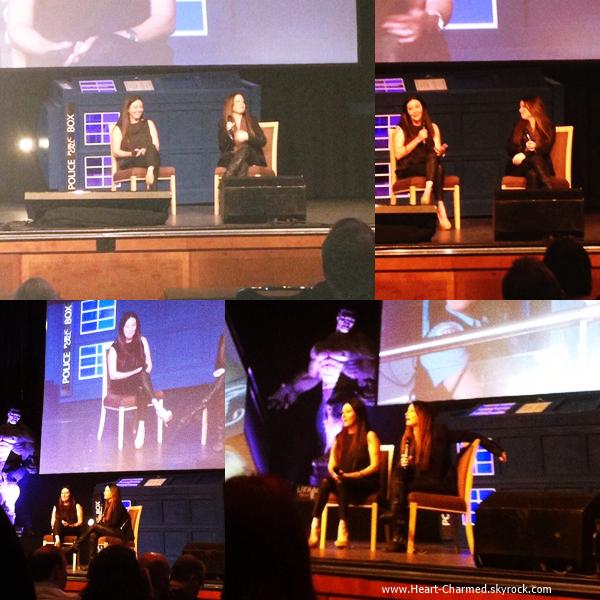 -    30/05/2014 : Shannen et Holly assistant à la FedCon en Allemagne.  -