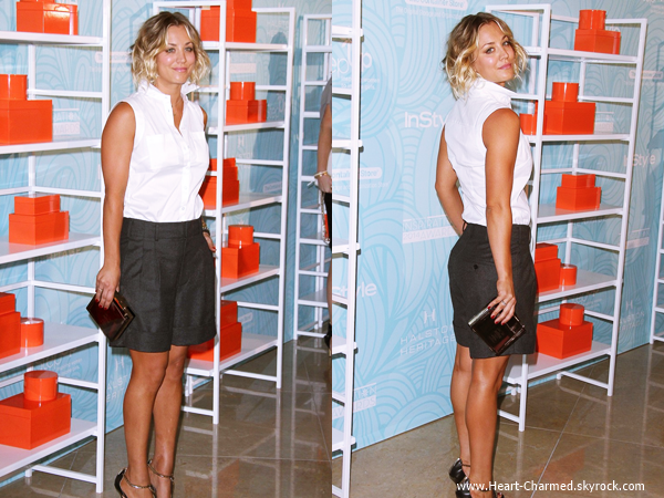 -    30/05/2014 : Kaley assistant aux Step Up 11th Annual Inspiration Awards à Beverly Hills.  -