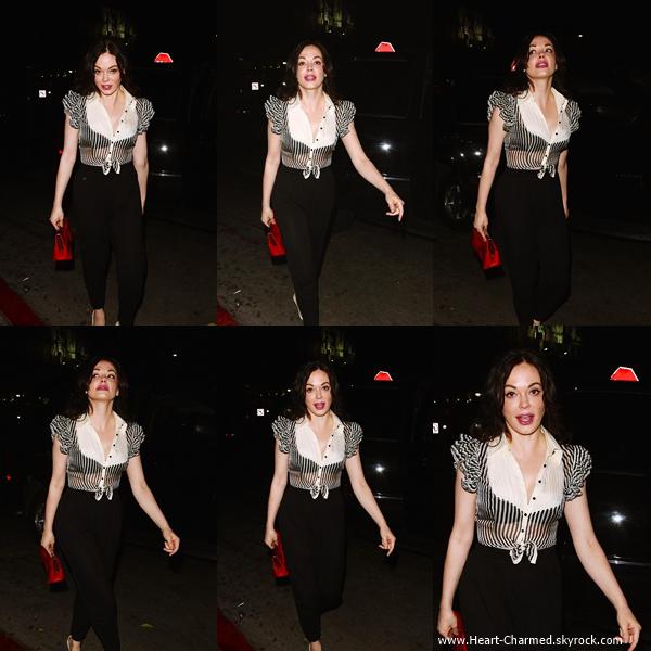 -    02/06/2014 : Rose arrivant au Château Marmont à Los Angeles.  -