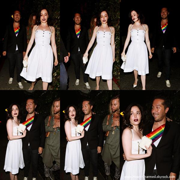 -    05/06/2014 : Rose arrivant au Château Marmont à Los Angeles.  -