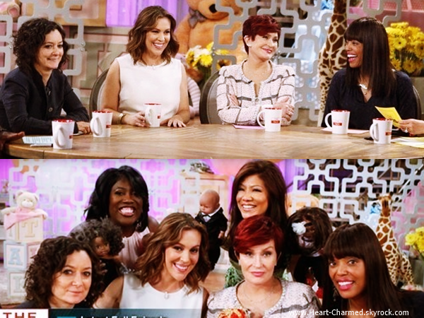 -    06/06/2014 : Alyssa sur le plateau de l'émission The Talk à Los Angeles.  -