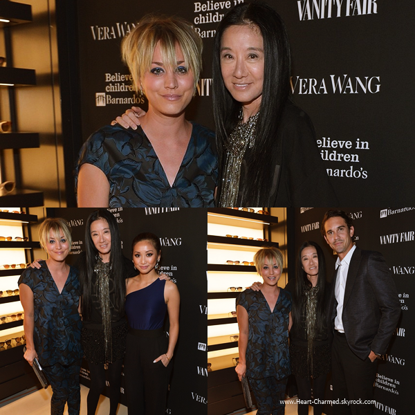 -    18/06/2014 : Kaley assistant à la soirée Vanity Fair Celebrates The Opening Of Vera Wang à Los Angeles.  -