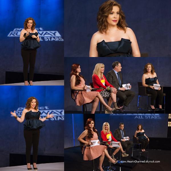 -    Project Runway All Stars : Découvrez ci-dessous les stills de l'épisode 4x03 de Project Runway All Stars dont Alyssa fait partie du jury.  -