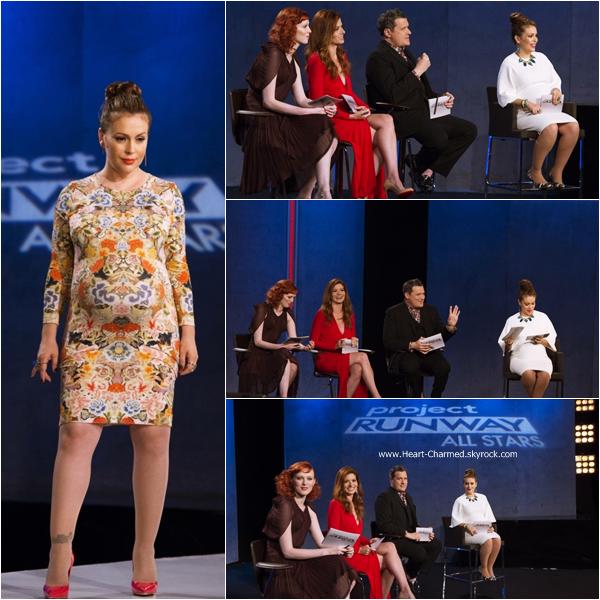 -    Project Runway All Stars : Découvrez ci-dessous les stills de l'épisode 4x05 de Project Runway All Stars dont Alyssa fait partie du jury.  -