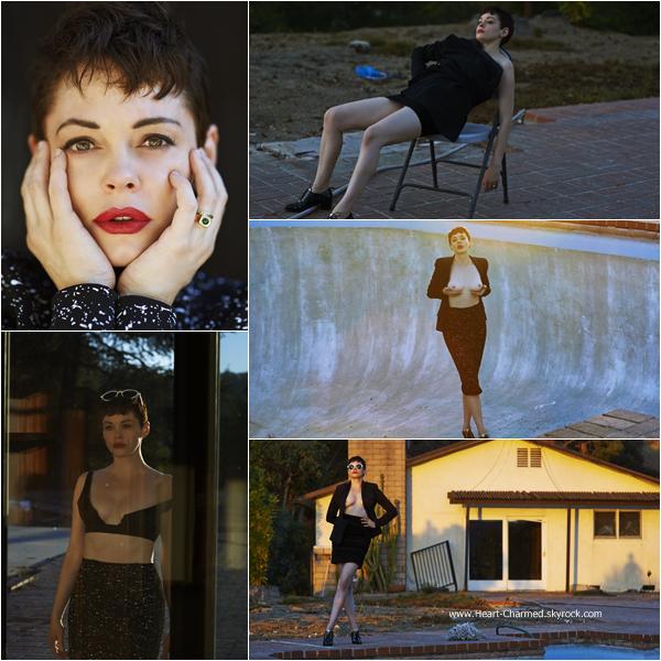 -    Flatt Magazine : Découvrez un photoshoot de Rose pour le magazine Flatt réalisé par Mark Squires.  -