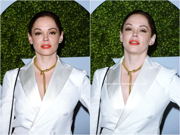 -    04/12/2014 : Rose assistant au 2014 GQ Men Of The Year à Los Angeles.  -