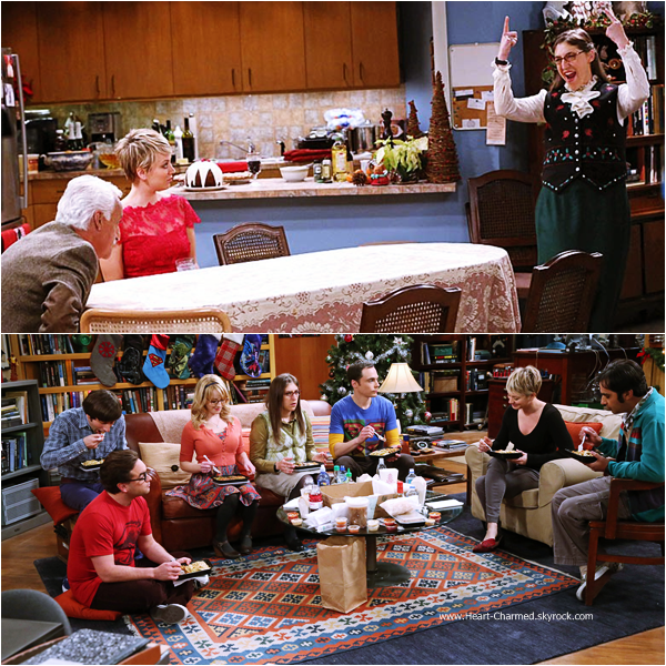 -    The Big Bang Theory : Découvrez ci-dessous les stills de l'épisode 8x11 de The Big Bang Theory intitulé The Clean Room Infiltration.  -