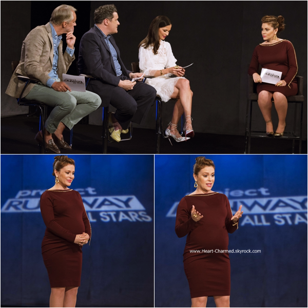 -    Project Runway All Stars : Découvrez ci-dessous les stills de l'épisode 4x06 de Project Runway All Stars dont Alyssa fait partie du jury.  -