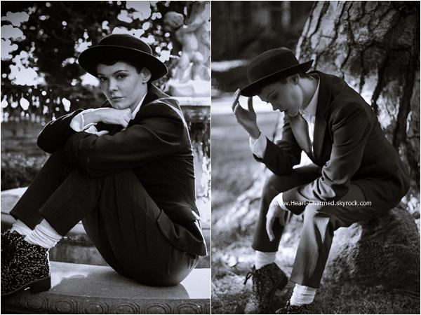 -    Photoshoot : Découvrez un photoshoot de Rose pour le magazine LadyGunn réalisé par Scott Nathan.  -