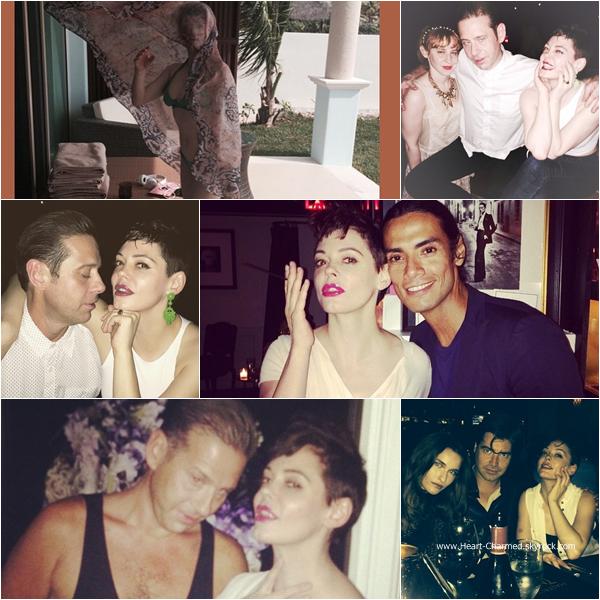 -    Décembre 2014 : Découvrez quelques photos personnelles de Rose lors de ses vacances au Mexique.  -