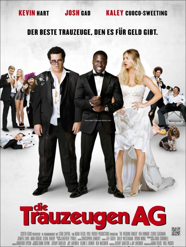-    The Wedding Ringer : Découvrez deux stills et un poster de The Wedding Ringer le prochain film avec Kaley Cuoco.  -