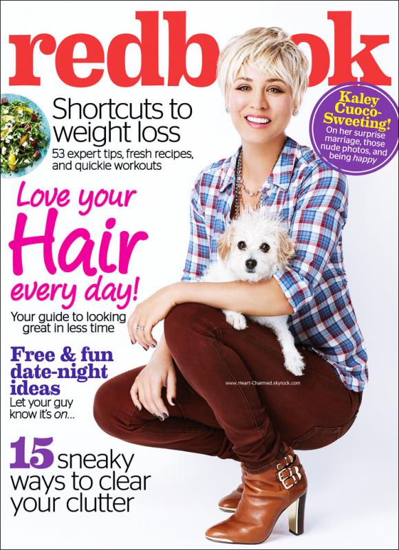 -    Redbook Magazine : Découvrez Kaley en couverture du magazine Redbook pour Février 2015.  -