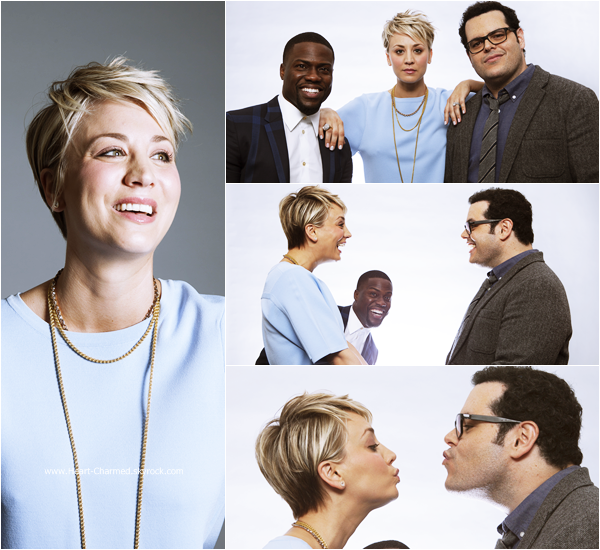 -    06/01/2015 : Découvrez quelques portraits de Kaley et ses co-stars lors du photocall de The Wedding Ringer à Los Angeles.  -