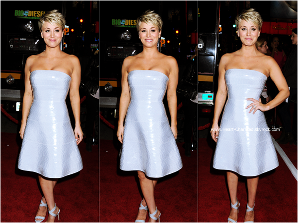 -    06/01/2015 : Kaley assistant à la première de son film The Wedding Ringer à Hollywood.  -