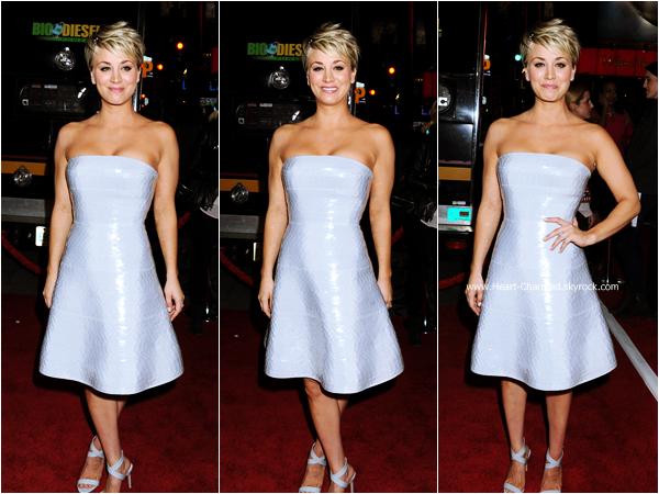 -    06/01/2015 : Kaley assistant à la première de son film The Wedding Ringer à Hollywood.  -