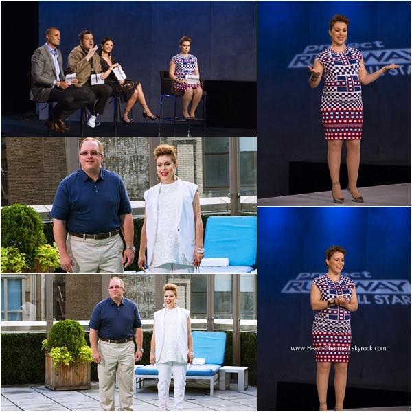 -    Project Runway All Stars : Découvrez ci-dessous les stills de l'épisode 4x08 de Project Runway All Stars dont Alyssa fait partie du jury.  -