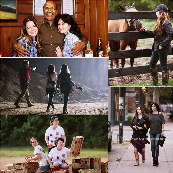 -    Off The Map : Découvrez quelques photos promotionnelles de Shannen et Holly pour leur nouvelle émission Off The Mapp.  -
