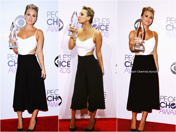 -    07/01/2015 : Kaley assistant au The 41st Annual People's Choice Awards à Los Angeles.  -