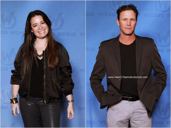 -    09-11/01/2015 : Shannen, Holly et Brian Krause assistant au Comic Con en Nouvelle Orléans.  -