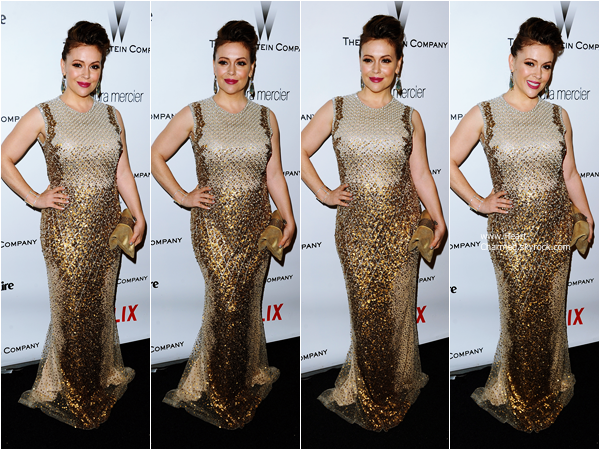 -    11/01/2015 : Alyssa assistant à la 2015 InStyle And Warner Bros. 72nd Annual Golden Globe Awards Post-Party à Los Angeles.  -