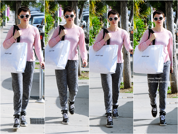 -    21/01/2015 : Rose faisant du shopping à West Hollywood.  -