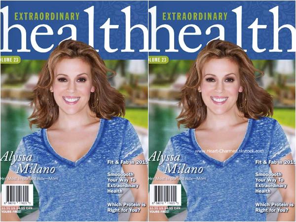 -    Extraordinary Health : Découvrez Alyssa en couverture du magazine Extraordinary Health.  -