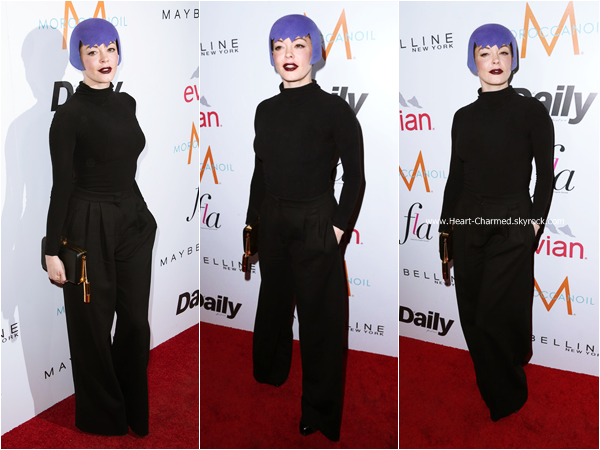 "-    22/01/2015 : Rose assistant au The DAILY FRONT ROW ""Fashion Los Angeles Awards"" Show à West Hollywood.  -"