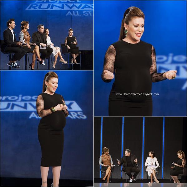 -    Project Runway All Stars : Découvrez ci-dessous les stills de l'épisode 4x10 de Project Runway All Stars dont Alyssa fait partie du jury.  -