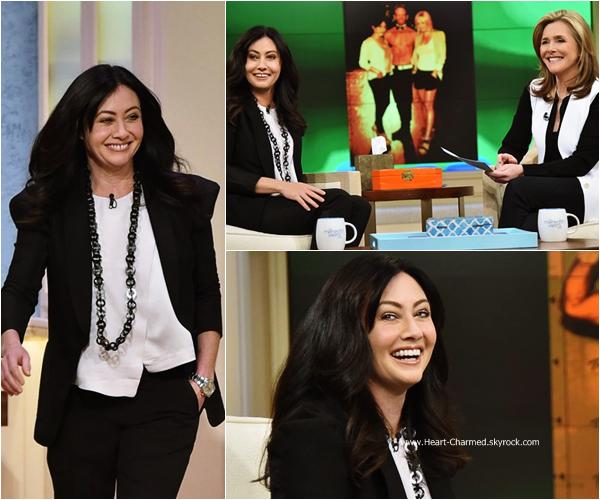 -    27/01/2015 : Shannen sur le plateau de l'émission The Meredith Vieira Show.  -