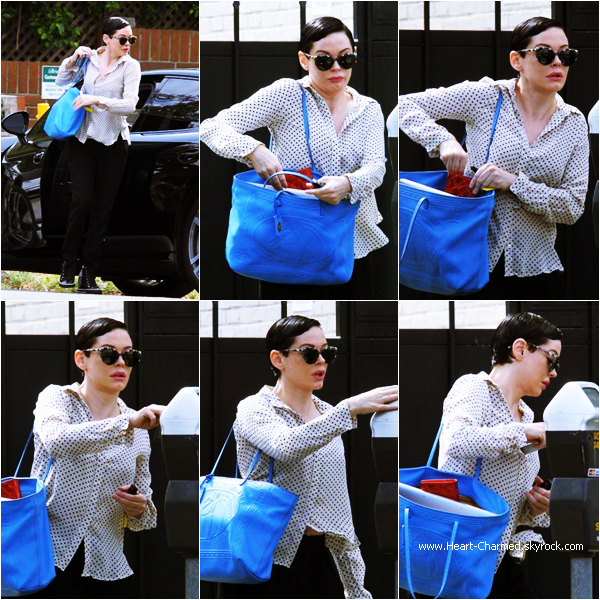 -    21/04/2015 : Rose dans les rues de West Hollywood.  -