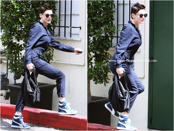 -    01/05/2015 : Rose allant déjeuner à West Hollywood.  -