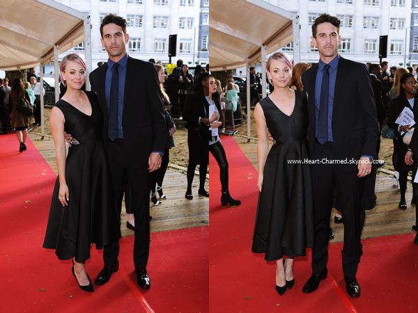 -    02/06/2015 : Kaley et son mari Ryan assistant aux Glamour Women Of The Year à Londres.  -