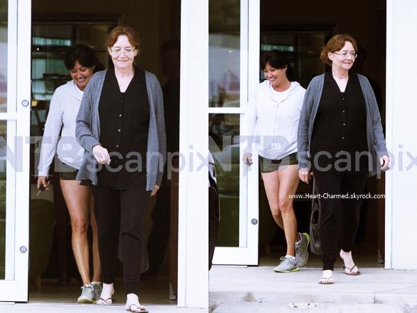 -    03/06/2015 : Shannen quittant le Desert Sun avec sa maman Rosa à Malibu.  -