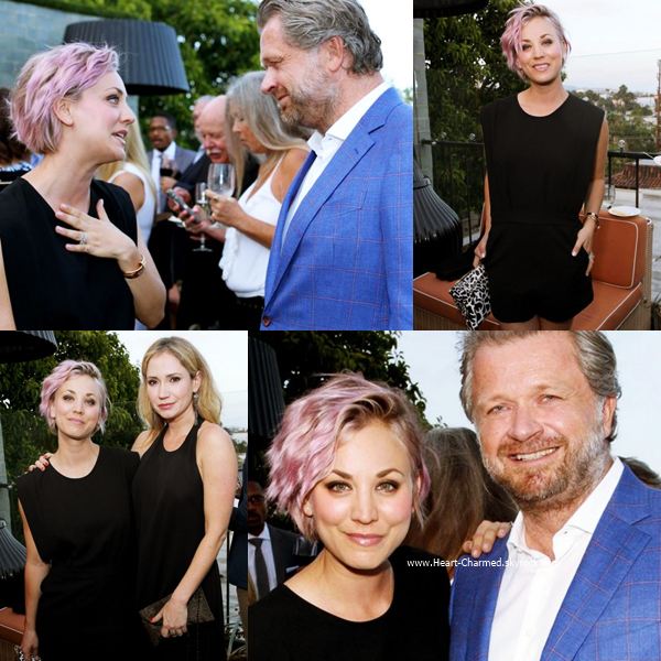 -    10/06/2015 : Kaley assistant au Longines Masters of Los Angeles welcoming event à Los Angeles.  -