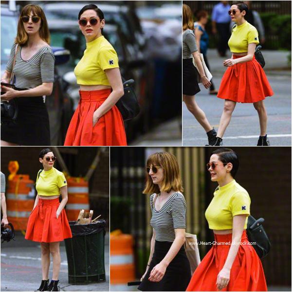 -    17/06/2015 : Rose se promenant dans les rues de New-York.  -