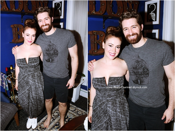 -    08/07/2015 : Alyssa assistant au spectacle musical Finding Neverland à Broadway.  -