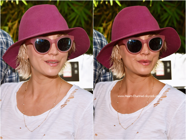 -    22/08/2015 : Kaley assistant au Eva Longoria and LG Electronics Host 'Fam To Table' Series à Culver City.  -
