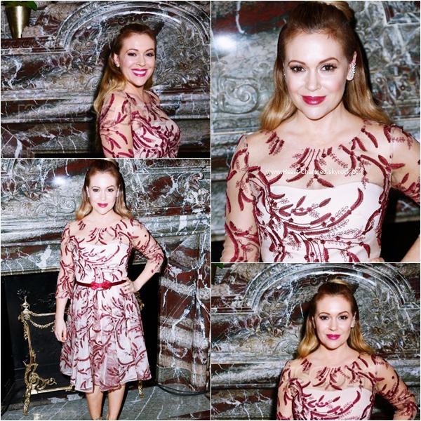 -    16/09/2015 : Alyssa assistant au défilé Marchesa dans le cadre de la Fashion Week à New-York.  -