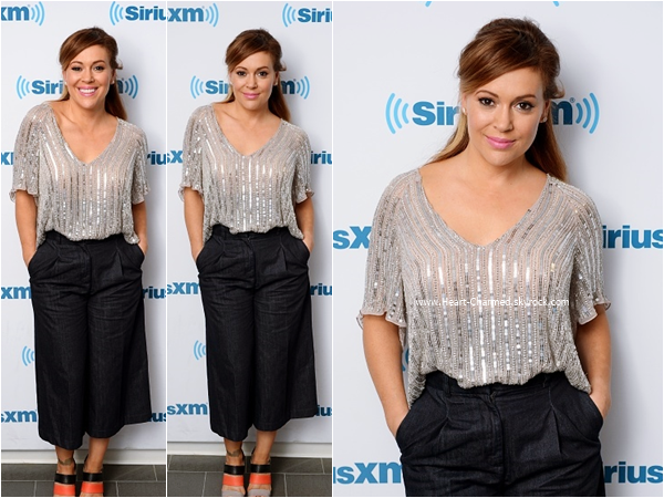 -    16/09/2015 : Alyssa à la radio Sirius XM à New-York.  -